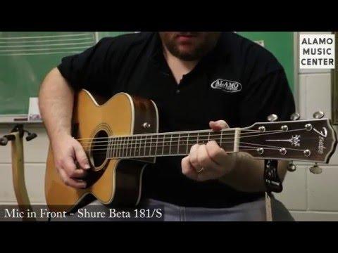 Fender Paramount Acoustic Series PM-1 vs PM-2 vs PM-3 Comparison