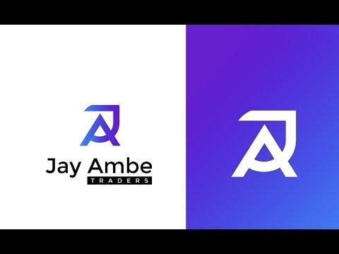AJ Letter Logo Design In Illustrator tutorial Hindi | Logo design tutorial in Hindi 2019 thumbnail