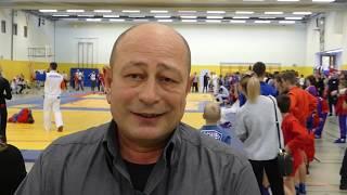 Самбо в Германии Интервью Олег Габриэлов
