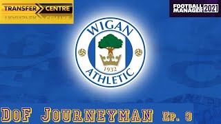 DoF Journeyman Ep 9 WIGAN ATHLETIC Football Manager 21 FM21