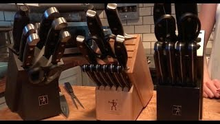 JA Henckels knife sets blogger review