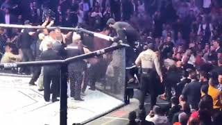 UFC 229 Melee: Khabib Nurmagomedov, Team Brawl With Conor McGregor After Fight