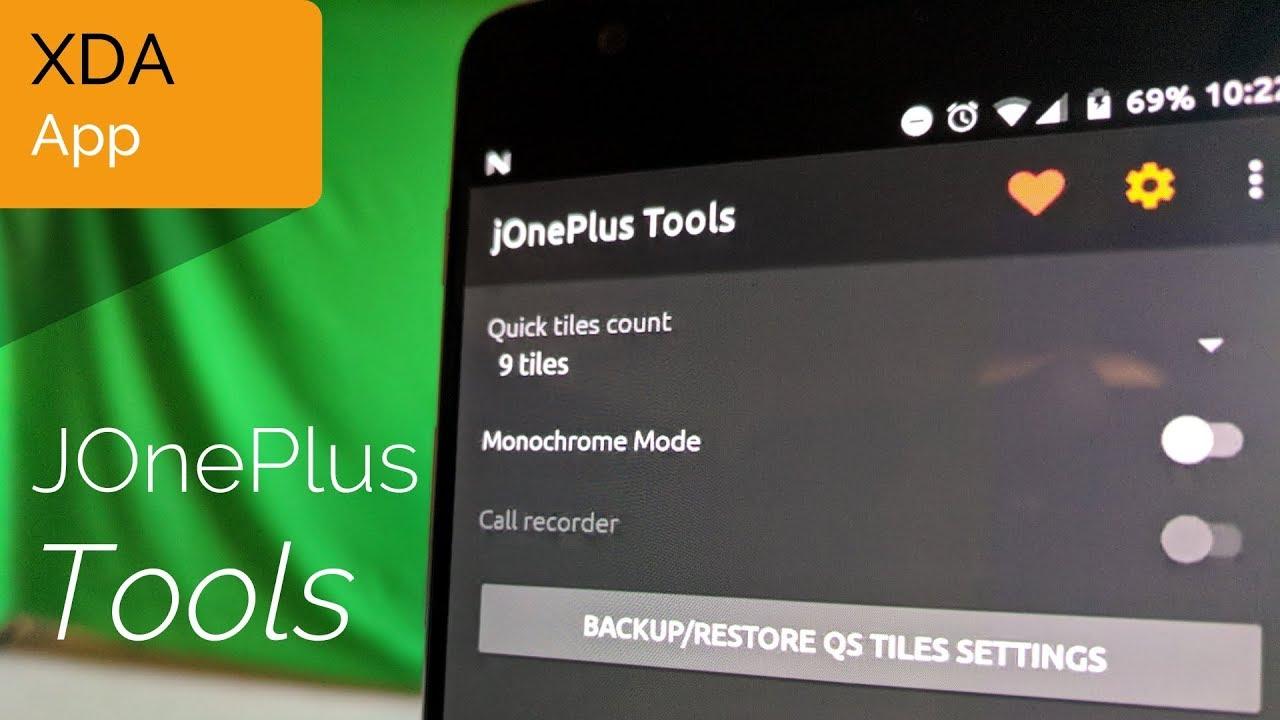 JOnePlus Tools Unlock Extra Features in your OnePlus Phone