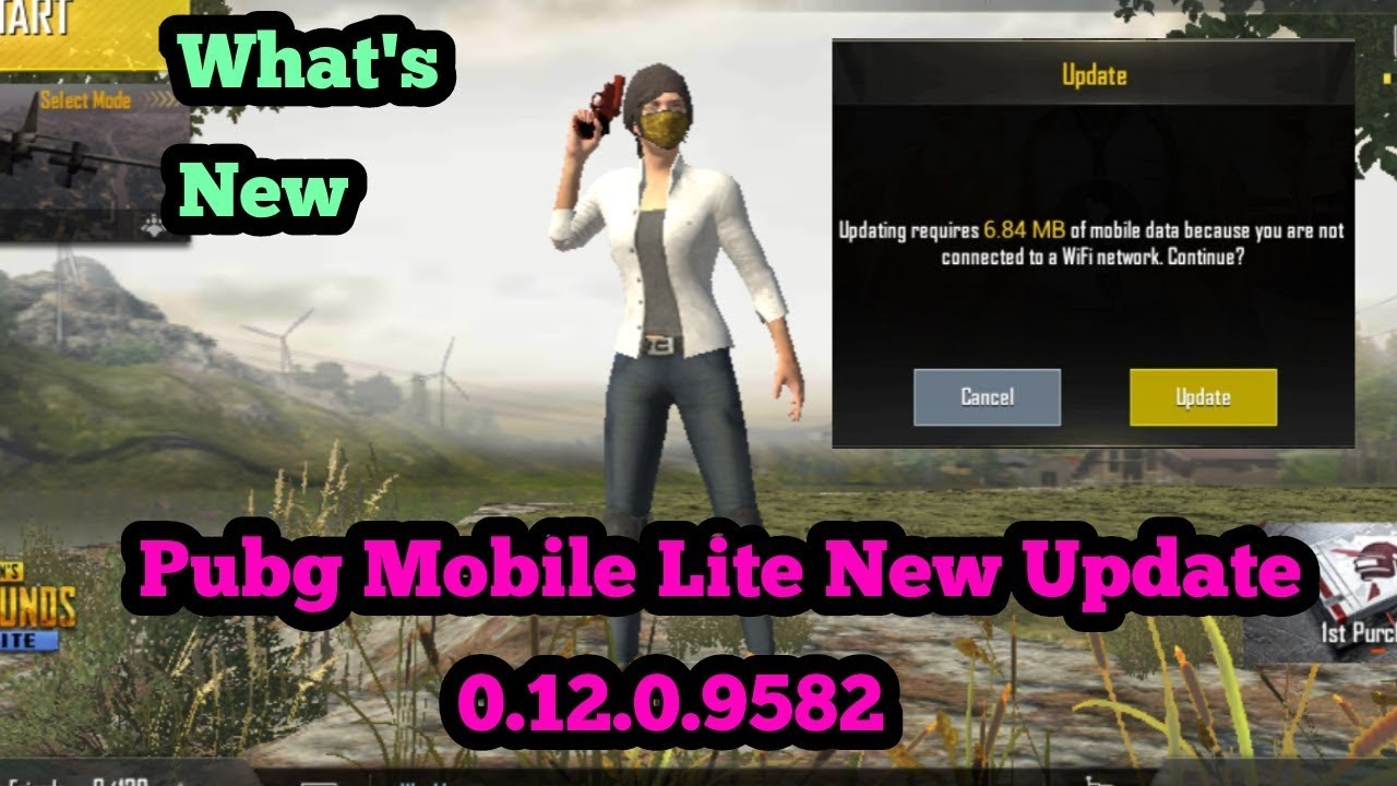 Pubg Mobile Lite New Update 0 12 0 9582