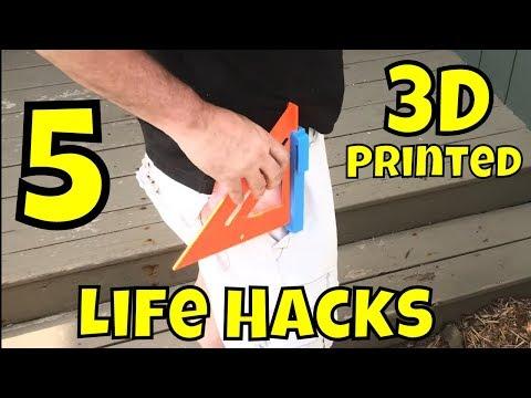 Five 3D Printed Life Hacks on Ender 3
