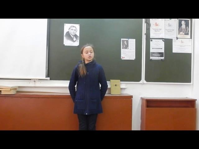 Изображение предпросмотра прочтения – АннаШишкина читает произведение «Свинья под дубом» И.А.Крылова