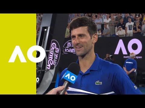 Novak Djokovic on-court interview (SF) | Australian Open 2019 Mp3