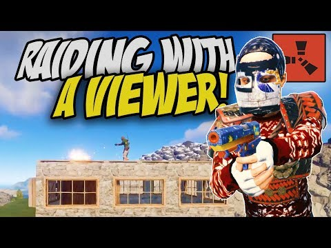 TEAMING UP WITH A VIEWER! - Rust