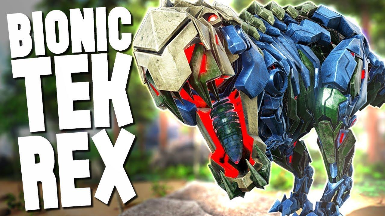 new bionic tek rex