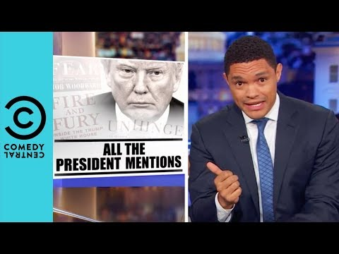 White House Officials Are 'Trashing' Trump | The Daily Show With Trevor Noah