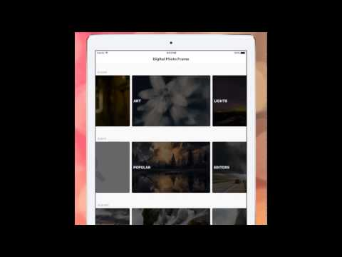 Digital Photo Frame App for iPad - Slideshow Creator