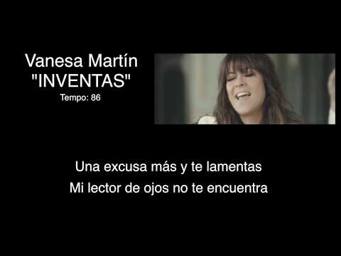 Vanesa Martin - Inventas - Karaoke