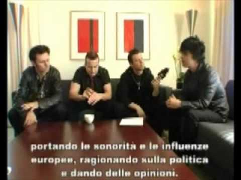 Green Day Interview on Virgin Radio Italy 2009 [part 1]