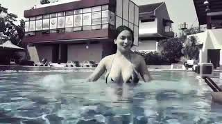 #hot#model#siva_aprilla.     Hot siva aprillia in swimming poll.