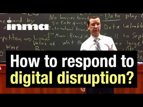 How to respond to the digital disruption