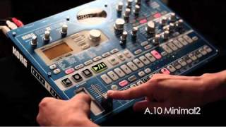 KORG ELECTRIBE・MX / PATTERN PREVIEW - 4 ON THE FLOOR -