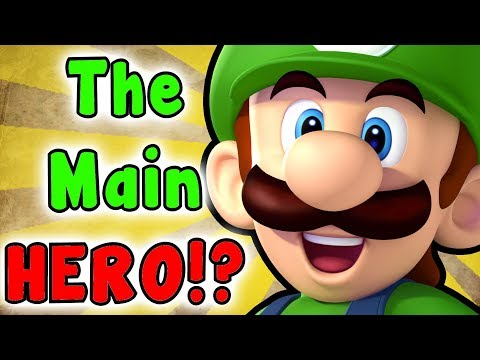 What If LUIGI Was The HERO? (Super Mario Series)