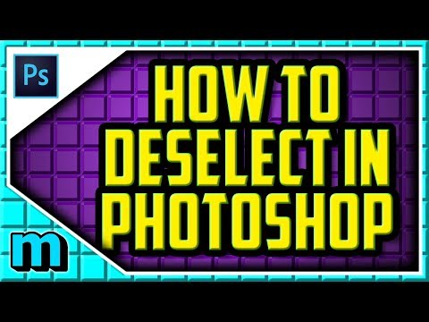 HOW TO DESELECT IN PHOTOSHOP CC 2019 (EASY) - Photoshop Deselect Shortcut Key