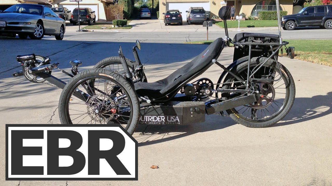 2013 Outrider 422 Alpha Video Review Recumbent Electr