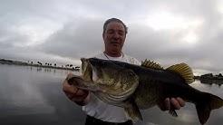 Big bass day on Lake Underhill