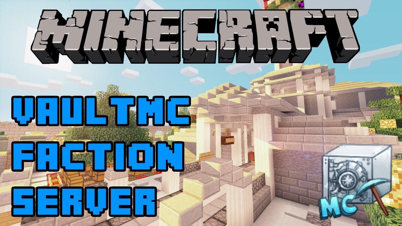 VaultMC Minecraft Server Factions/PVP/Raiding/Economy/mcMMO/Jobs