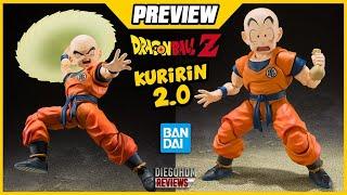 【PREVIEW】Kuririn / Krillin 2.0 SH Figuarts DBZ / DiegoHDM