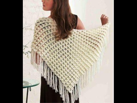 Contemporary Butterfly Shawl Crochet Pattern Model Sewing Ideas