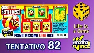 Gratta e vinci 2018 | SETTE E MEZZO NUOVO da 1 euro #82
