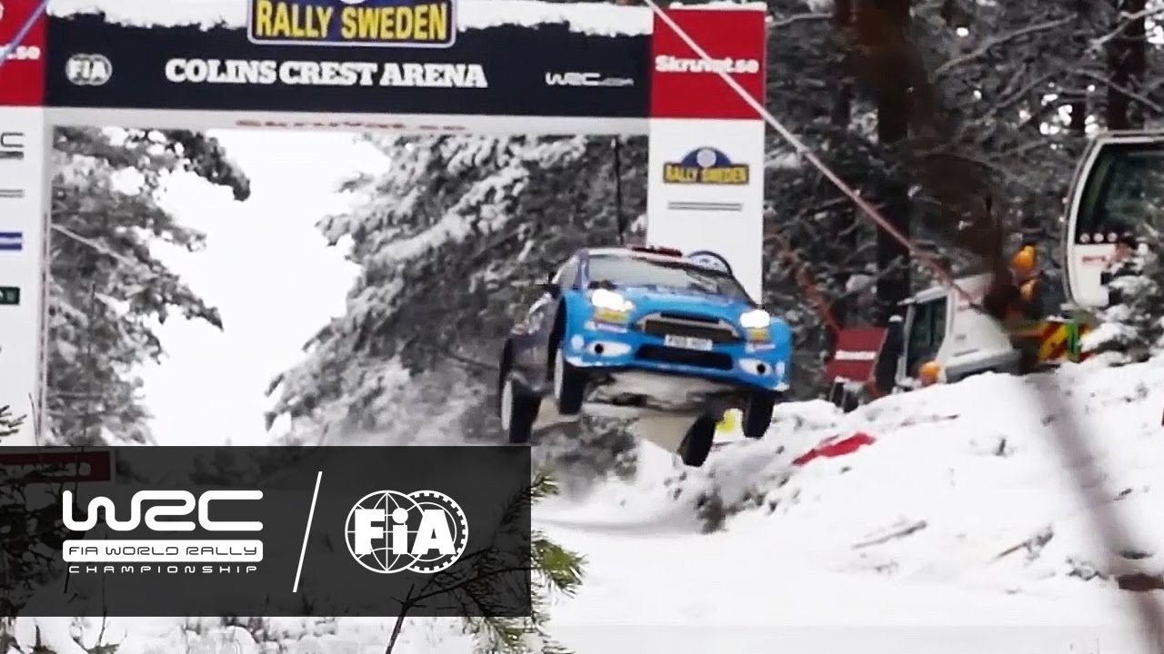 WRC REVIEW Rally Sweden YouTube - Rally sweden map 2016