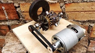 New Electrical Free Energy Generator Working 100% Self Running By DC Motor 775
