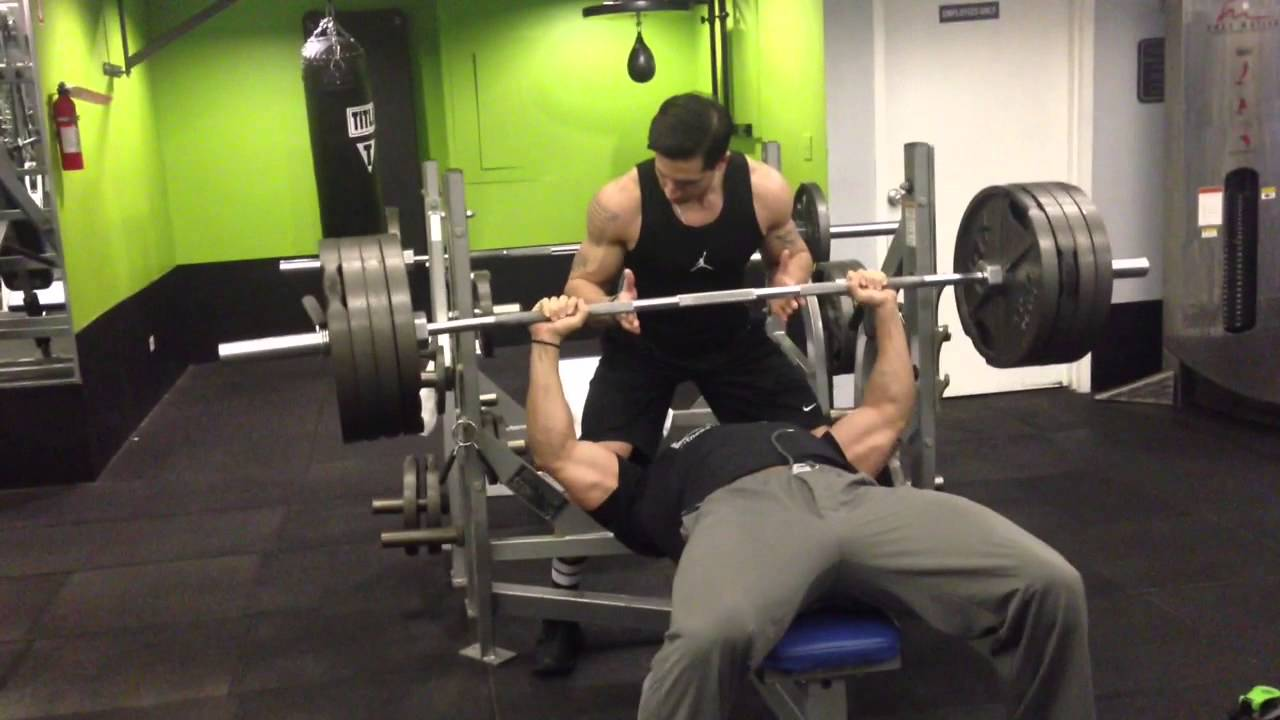1 rep max bench press