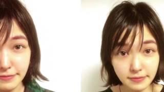 小顔の女優さんも、より小顔になりました。 ビフォー アフターで、見て...