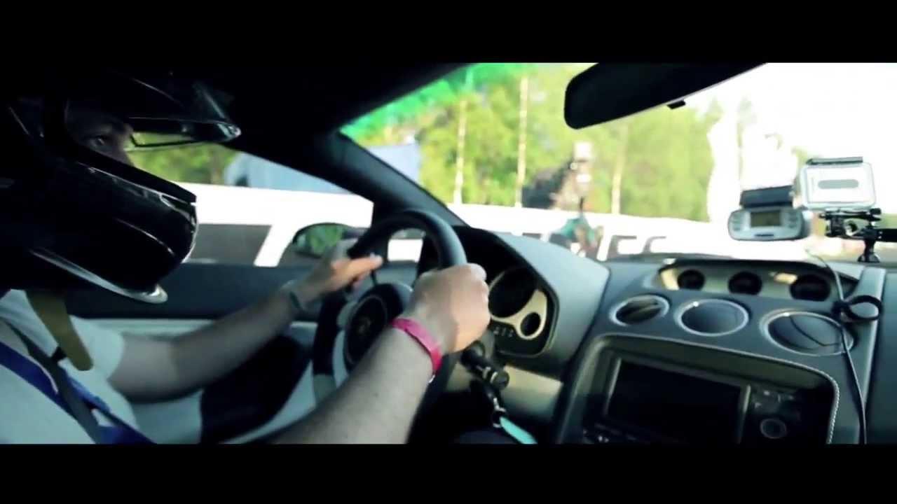 Lamborghini Gallardo Twin Turbo Top Speed Run Clip 405 Kmh