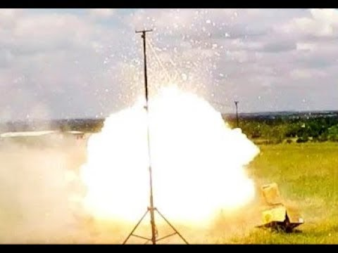 Large Ground Salute Maroon Firecracker Firework Test 2018