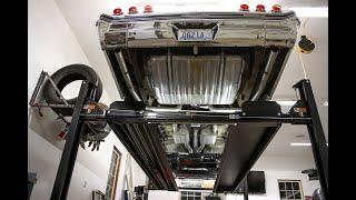 DIY 4 Post Lift Custom LED Light Upgrade - Huge Improvement!
