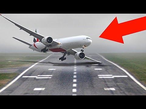 10 Самых Невероятных Посадок Самолетов в Истории