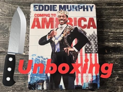 Download Coming to America ( 1988 ) Steelbook Umboxing