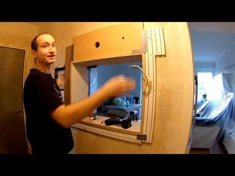 Аквариум в стене между комнатами своими руками