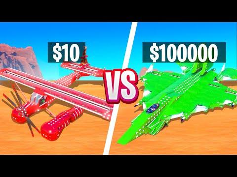 CHOP'S CHEAP FIGHTER JET VS MY EXPENISVE JET BUILD