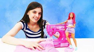 Мультик Барби - Тереза устроила потоп дома и сожгла платье! Видео для девочек