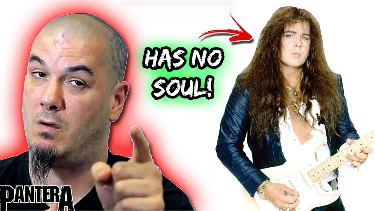 Pantera S Phil Anselmo Yngwie Malmsteen Has No Soul In