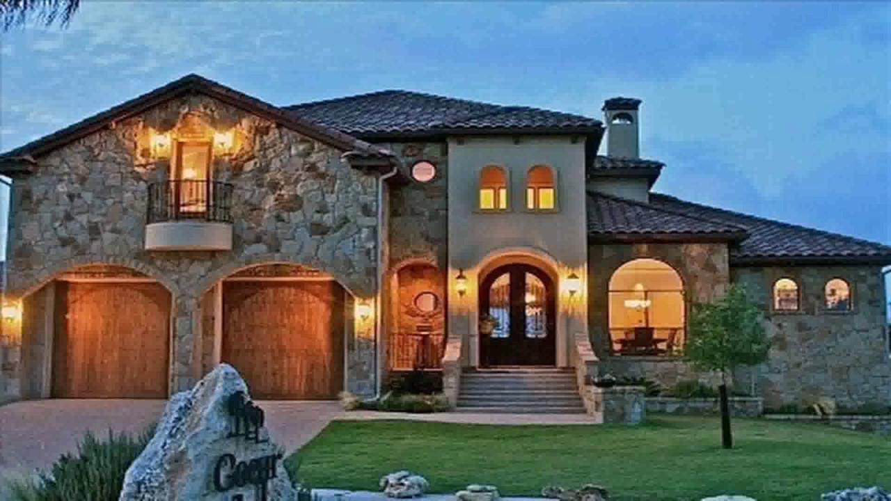 Tuscan Style Homes Images - YouTube
