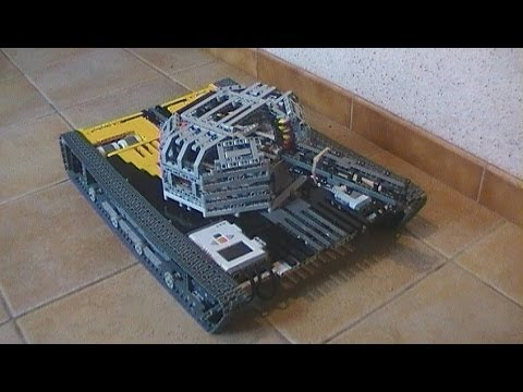 Lego mindstorms NXT - Big remote controlled tank - YouTube