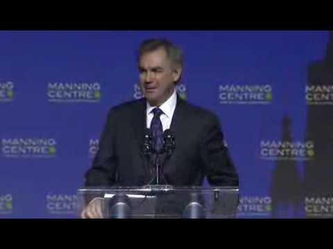 """MNC 2014: JIM PRENTICE """"Taking back the environmental debate"""""""
