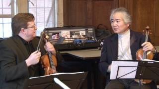 Tokyo String Quartet performs benefit concert for Japan