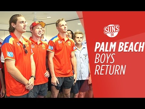 SUNS TV: Palm Beach visit