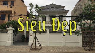 Mẫu nhà biệt thự 2 tầng tại Phúc Yên Vĩnh Phúc