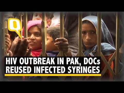 HIV Outbreak in Pak: Local Doctor Reused Infected Syringes  | The Quint