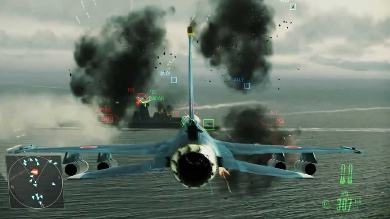Ace Combat: Assault Horizon Enhanced Edition Gameplay (PC)