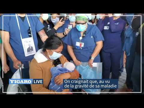Coronavirus: elle accouche dans le coma et voit enfin son enfant